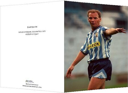 David Speedie. DAVID SPEEDIE, COVENTRY CITY