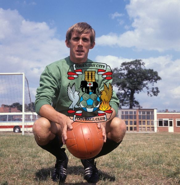 Bill Glazier, Coventry City Goalkeeper