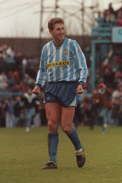Terry Butcher. Player/Manager Terry Butcher