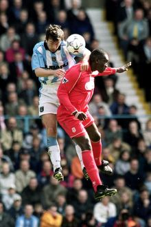 FA Carling Premiership - Coventry City v Liverpool