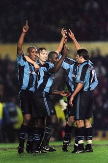 FA Carling Premiership - Coventry City v Manchester United - Highfield Road