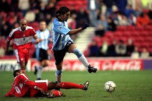 FA Carling Premiership - Middlesbrough v Coventry City