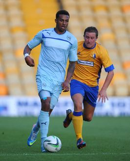 Friendly - Mansfield Town v Coventry City - Field Mill
