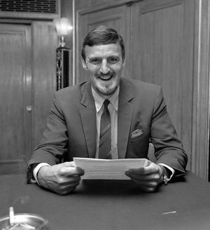 Jimmy Hill - Press Conference - Dorchester Hotel, London