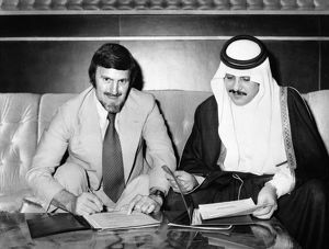 Jimmy Hill Saudi Arabia Contract - Ministry of Youth Welfare - Riyadh