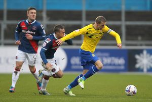 <b>Carlisle United v Coventry City : Brunton Park : 13-01-2013</b><br>Selection of 8 items