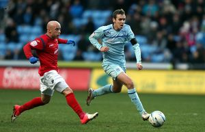 <b>Coventry City v Shrewsbury Town : Ricoh Arena : 01-01-2013</b><br>Selection of 14 items