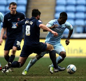 npower Football League One - Coventry City v Hartlepool United - Ricoh Arena