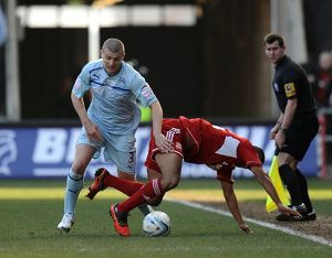 npower Football League One - Coventry City v Swindon Town - Ricoh Arena
