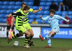 npower Football League One - Coventry City v Yeovil Town - Ricoh Arena