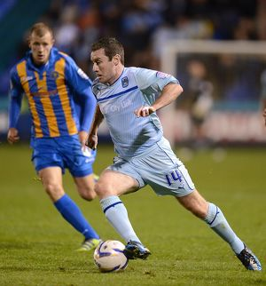 <b>Shrewsbury Town v Coventry City - Greenhous Meadow : 18-09-2012</b><br>Selection of 7 items