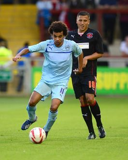 Pre-Season Friendly - Fleetwood Town v Coventry City - Highbury Stadium