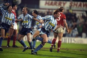 Rumbelows Cup - Fourth Round - Coventry City v Nottingham Forest - Highfield Road