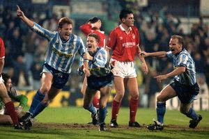 Rumbelows League Cup - Fourth Round - Coventry City v Nottingham Forest