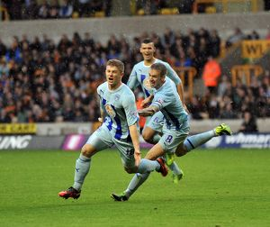 Sky Bet League 1 - Wolverhampton Wanderers v Coventry City - Molineaux Stadium