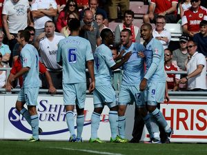 Sky Bet League One - Coventry City v Bristol City - Sixfields Stadium