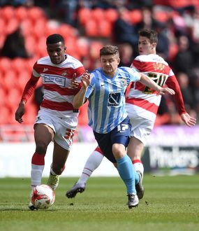 <b>Sky Bet League One - Doncaster Rovers v Coventry City - Keepmoat Stadium</b><br>Selection of 15 items